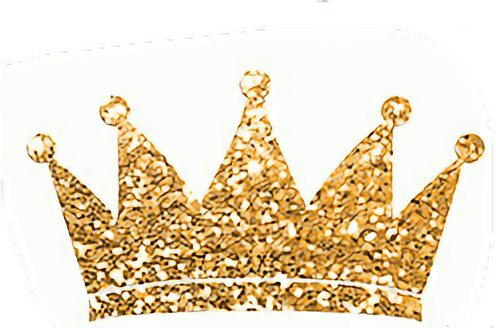Gold bling crown clipart png library stock princess crown glitter gold freetoedit... png library stock