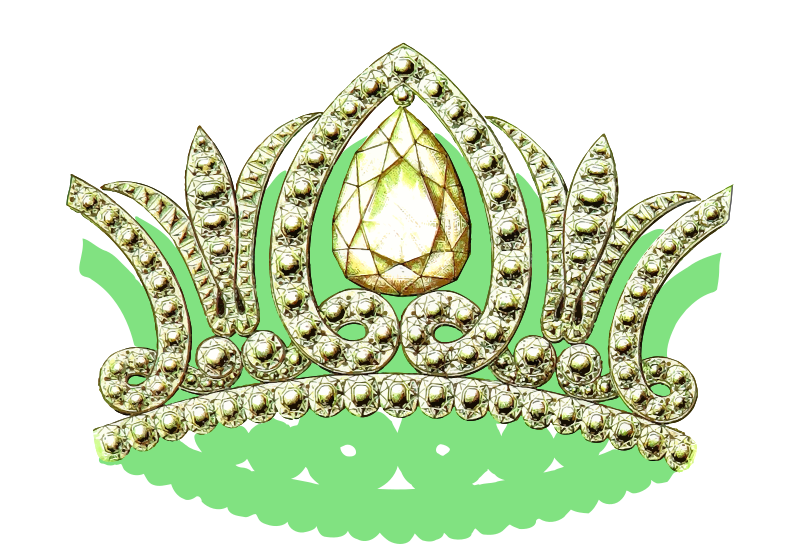 Crown clipart with green gem jpg free download Clipart - Crown 20 jpg free download