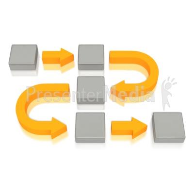 Block arrow clip art clipart transparent download Business Diagram Curved Arrows Blocks - Medical and Health - Great ... clipart transparent download