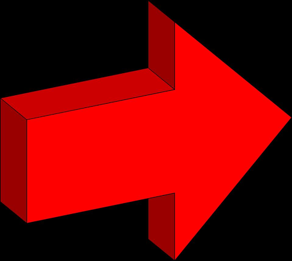 Block arrow clipart transparent clip art library stock 3d Arrow Clipart - Clipart Kid clip art library stock