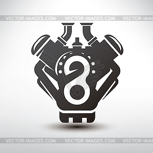 Block clipart motor silhouette. Car engine clipartfox symbol