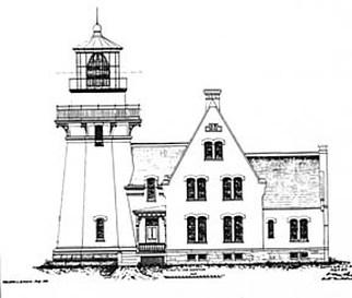 Block island lighthouse clipart clip stock Block Island Southeast Light history - NEW ENGLAND LIGHTHOUSES: A ... clip stock
