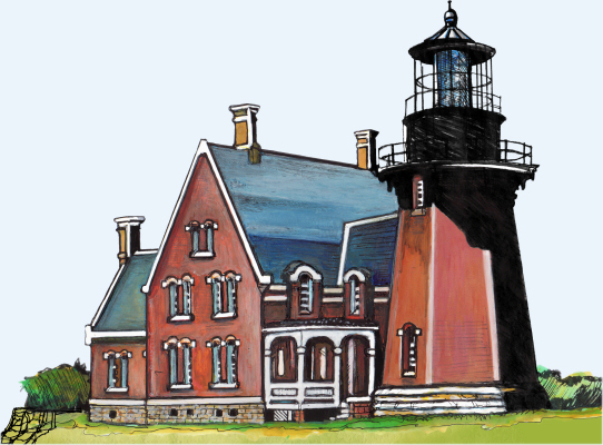Block island lighthouse clipart png download Block Island SE Lighthouse png download