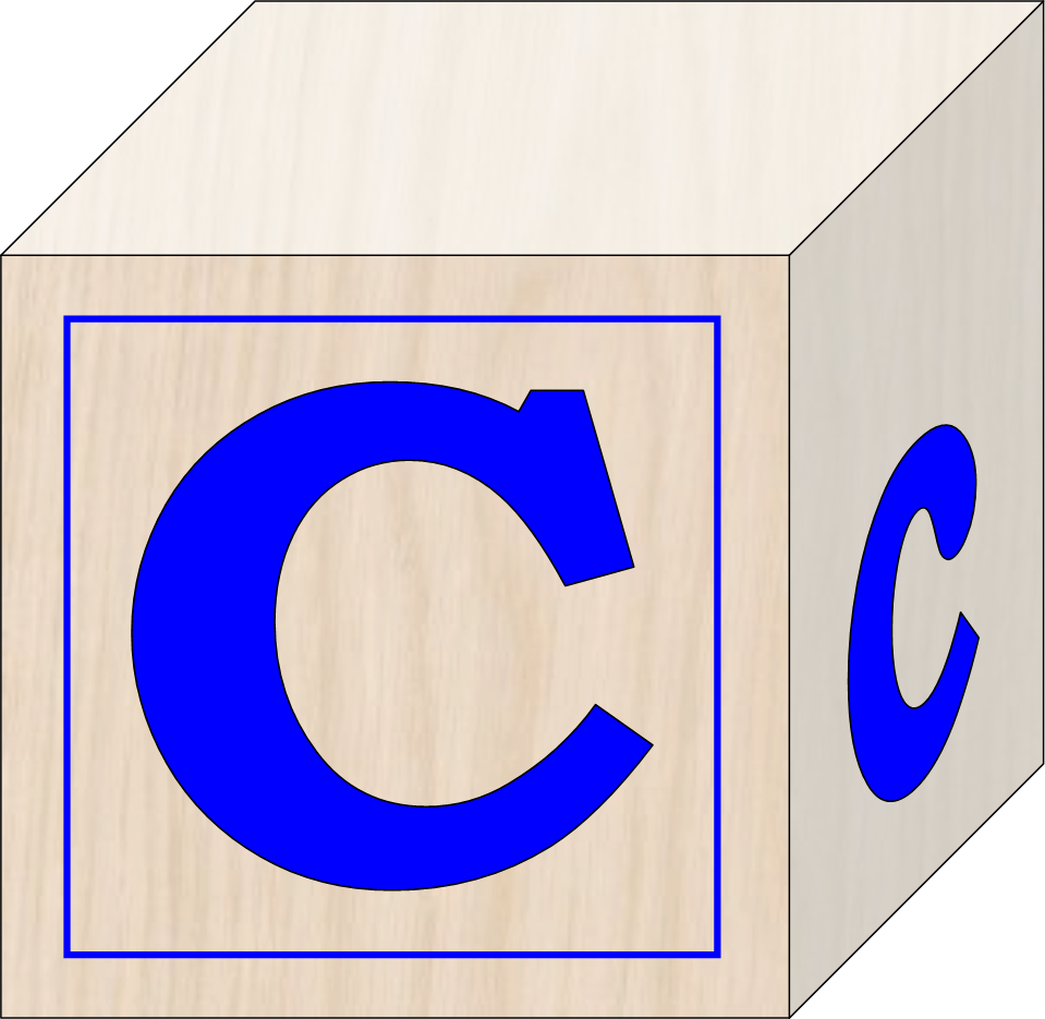 Block letter clipart banner royalty free library Blocks C | Free Images at Clker.com - vector clip art online ... banner royalty free library