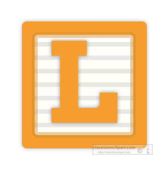 Block letter clipart png library stock Letter L Clipart & Letter L Clip Art Images - ClipartALL.com png library stock