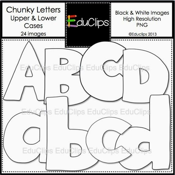 Block letter clipart free vector royalty free download EDUCASONG : {Free} Rainbow Block Letters Clip Art | Teaching ... vector royalty free download