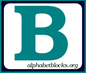 Alphabet blocks and graphics. Block letter clipart free