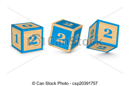Block number 2 clipart royalty free download Clipart Vector of Vector number 2 wooden blocks - Number 2 wooden ... royalty free download