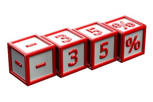 Block number 35 clipart vector stock Clip Art, Vector Images & Illustrations - iStock vector stock
