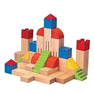 Block number 35 clipart transparent stock Amazon.com: PlanToys Plan Preschool Creative Blocks, 35 mm: Toys ... transparent stock