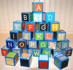 Block number 35 clipart image library Digital Alphabet Letters Clipart-Rainbow Block Letters-Baby Blocks ... image library