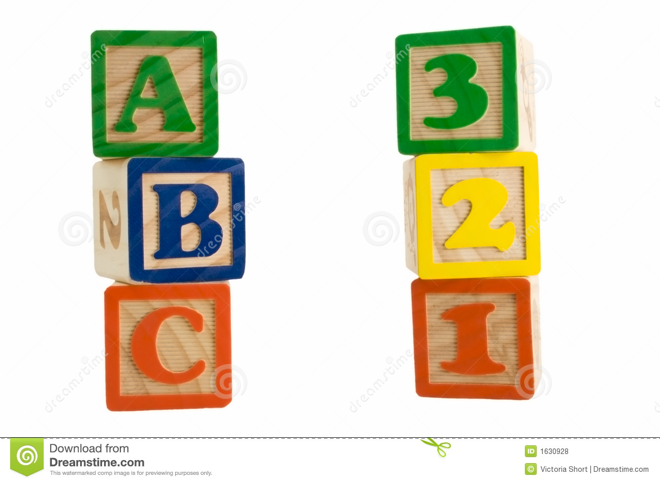 Abc and clipartfest blocks. Block number clipart