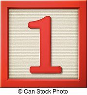 Block number clipart. Illustrations and royalty d