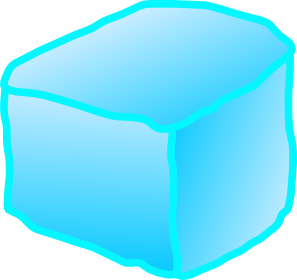 block of ice clipart #11