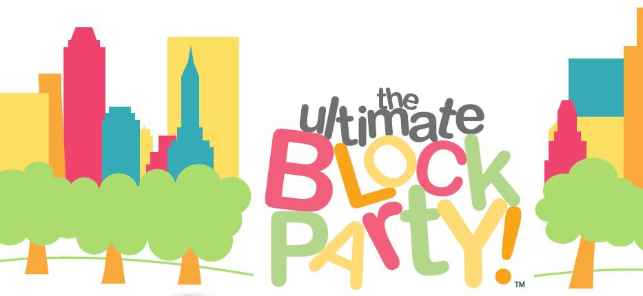Block party flyer images copyright free clipart