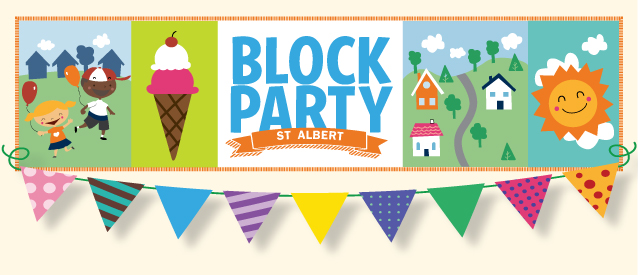 Block party flyer images copyright free clipart banner royalty free library Block Parties   City of St. Albert banner royalty free library