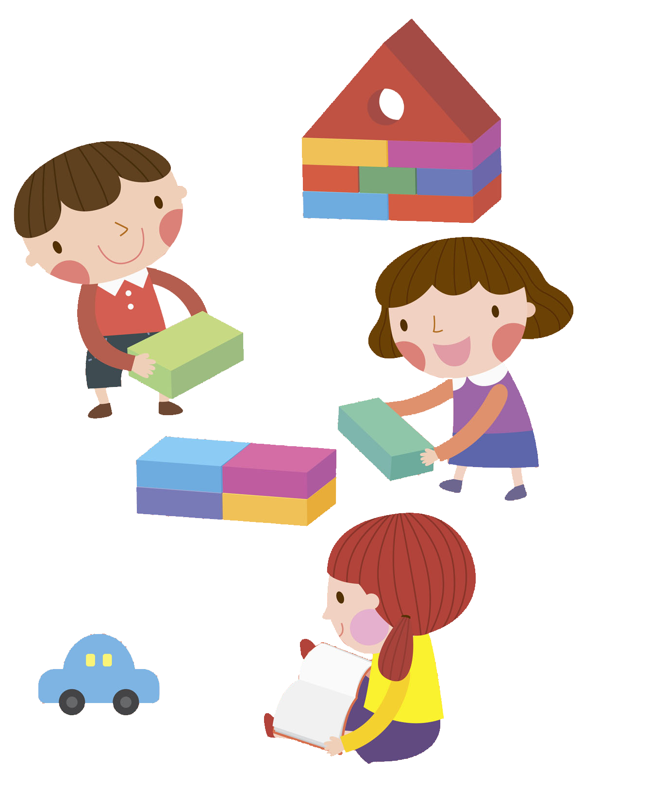 Kids building blocks clipart black and white Block Child Play Clip art - Illustration children playing with ... black and white
