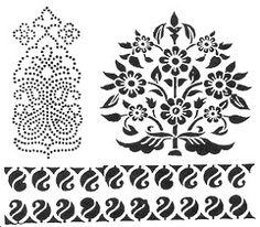 Block print indian clipart clipart black and white paisley / mango design again | Aari | Pinterest | Mango, Paisley ... clipart black and white
