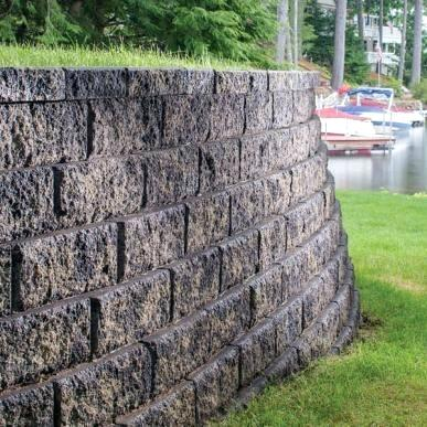 Block retainer wall in the lake clipart picture Stone Wall Images Retaining System Near Lake Clip Art – ToastAndTea picture