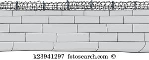 Block wall clipart clipart black and white library Concrete block Clipart and Illustration. 1,687 concrete block clip ... clipart black and white library