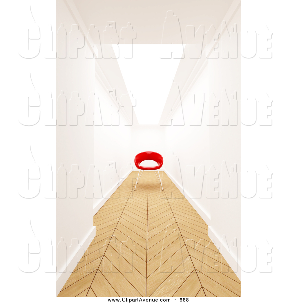 Blocked hallway clipart vector library Avenue Clipart of a Hallway with Wood Flooring by Frank Boston - #688 vector library