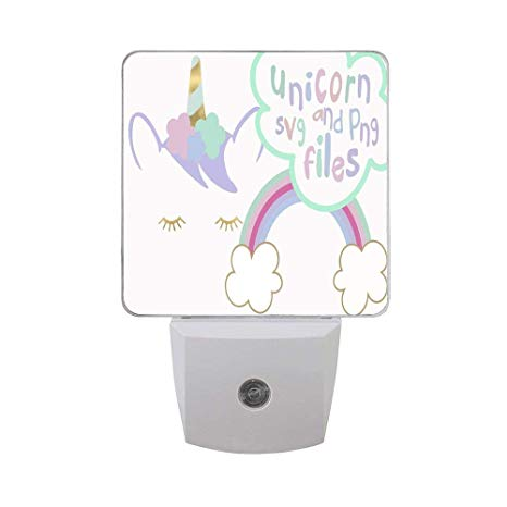 Blocked hallway clipart png transparent library Unicorn Clipart Public Domain Plug-in LED Night Lights, Stylish ... png transparent library