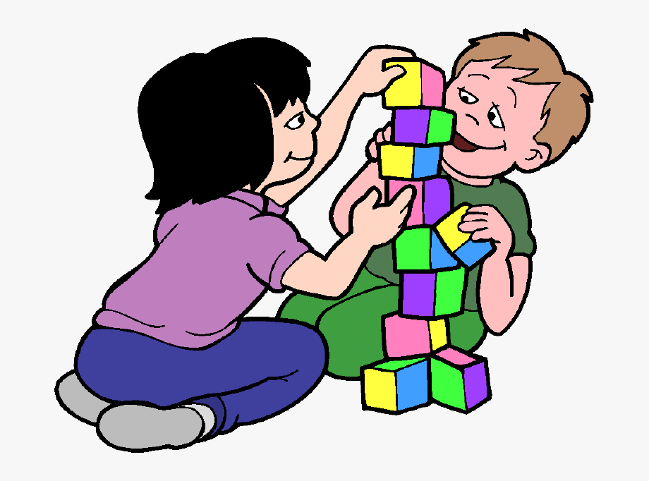 Blocks clipart for kids clipart royalty free download Banner Black And White Stock Kids Building Blocks Clipart - Playing ... clipart royalty free download