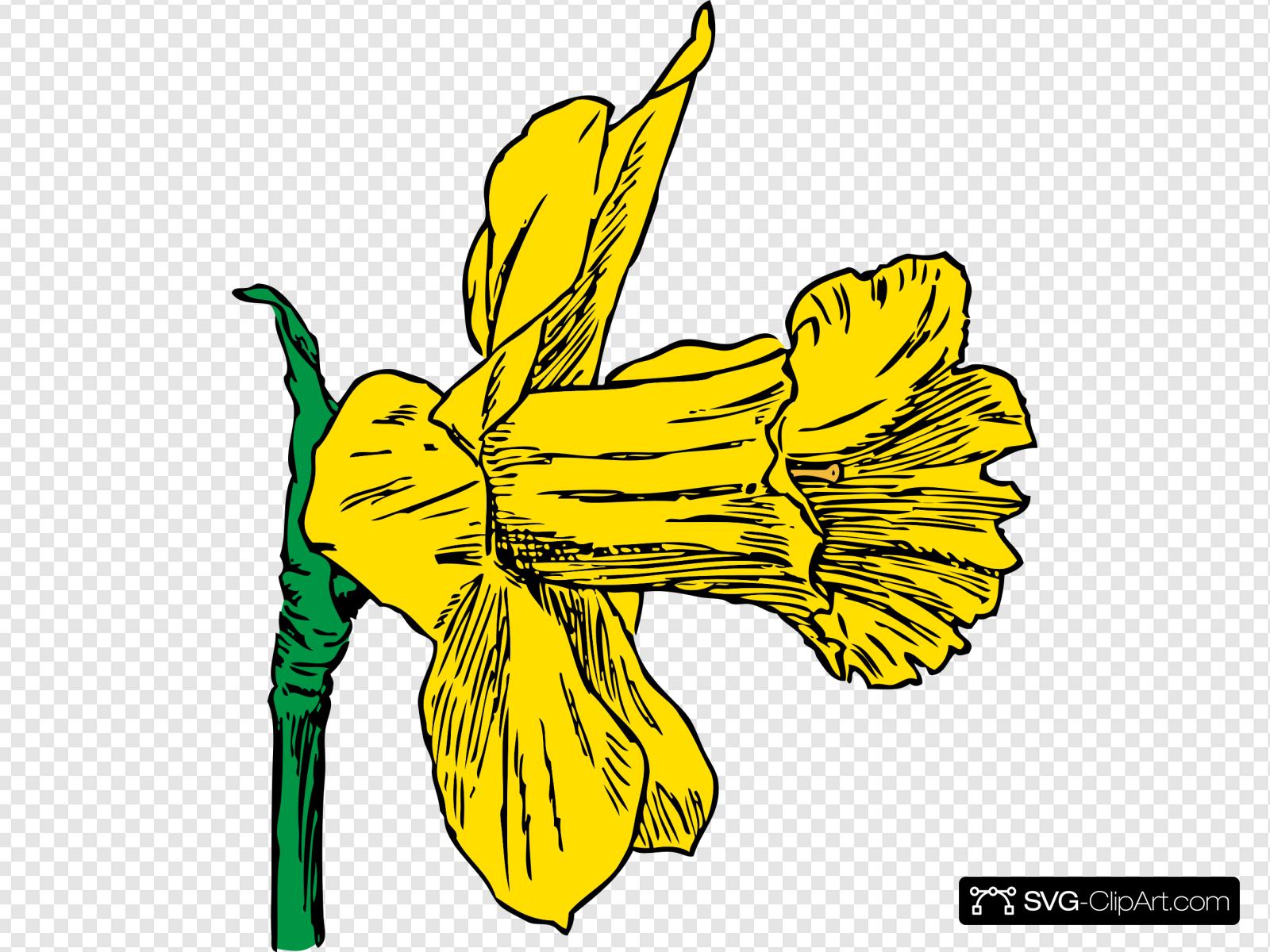 Blom clipart