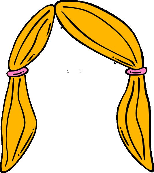 Blond hair clipart picture transparent library Hair Clip Art at Clker.com - vector clip art online, royalty free ... picture transparent library