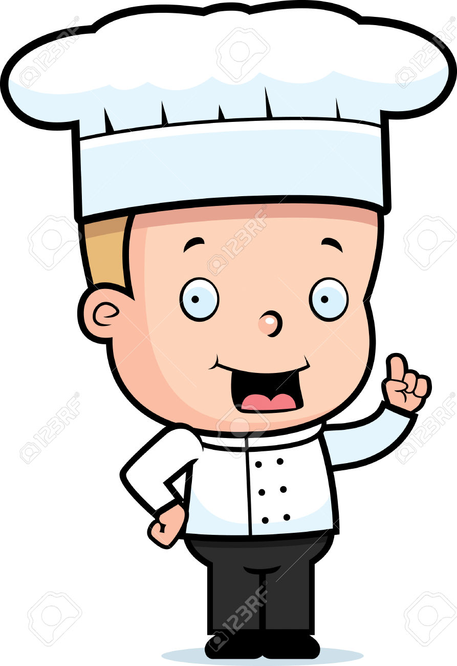 Blonde boy chef clipart svg black and white library Blonde boy chef clipart - ClipartFest svg black and white library