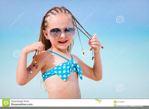 Blonde girl in glasses with braids clipart graphic free library Little Girl In Braids Clipart   Free Images at Clker.com - vector ... graphic free library