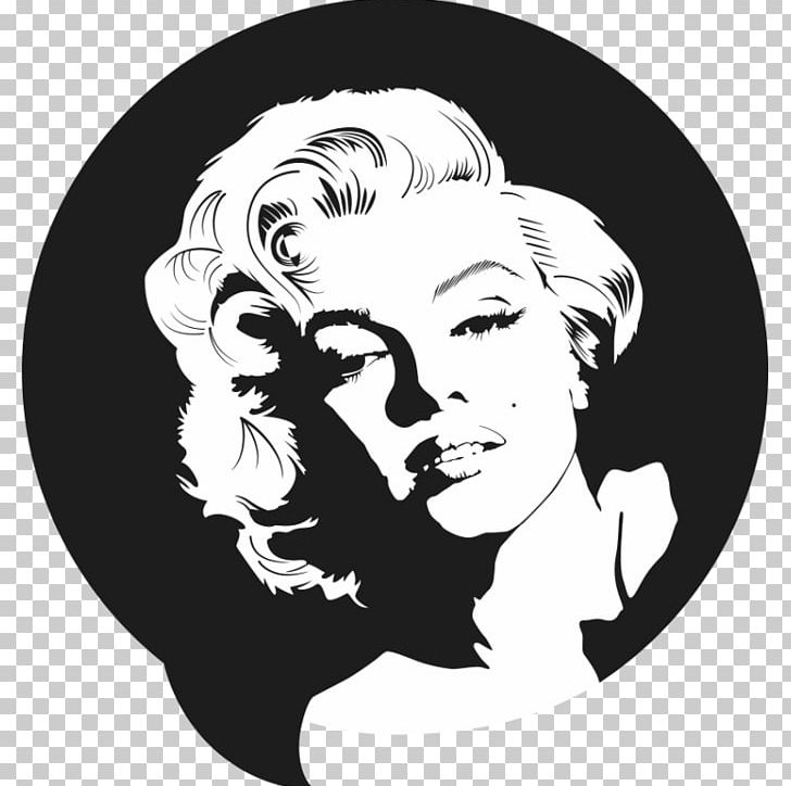 Blonde marilyn monroe black & white clipart clip free library Graphics White Dress Of Marilyn Monroe PNG, Clipart, Art, Black ... clip free library