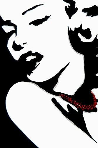 Blonde marilyn monroe black & white clipart clip art transparent stock Amazon.com: Buyartforless Marilyn by Fido Studio 18x12 Art Print ... clip art transparent stock