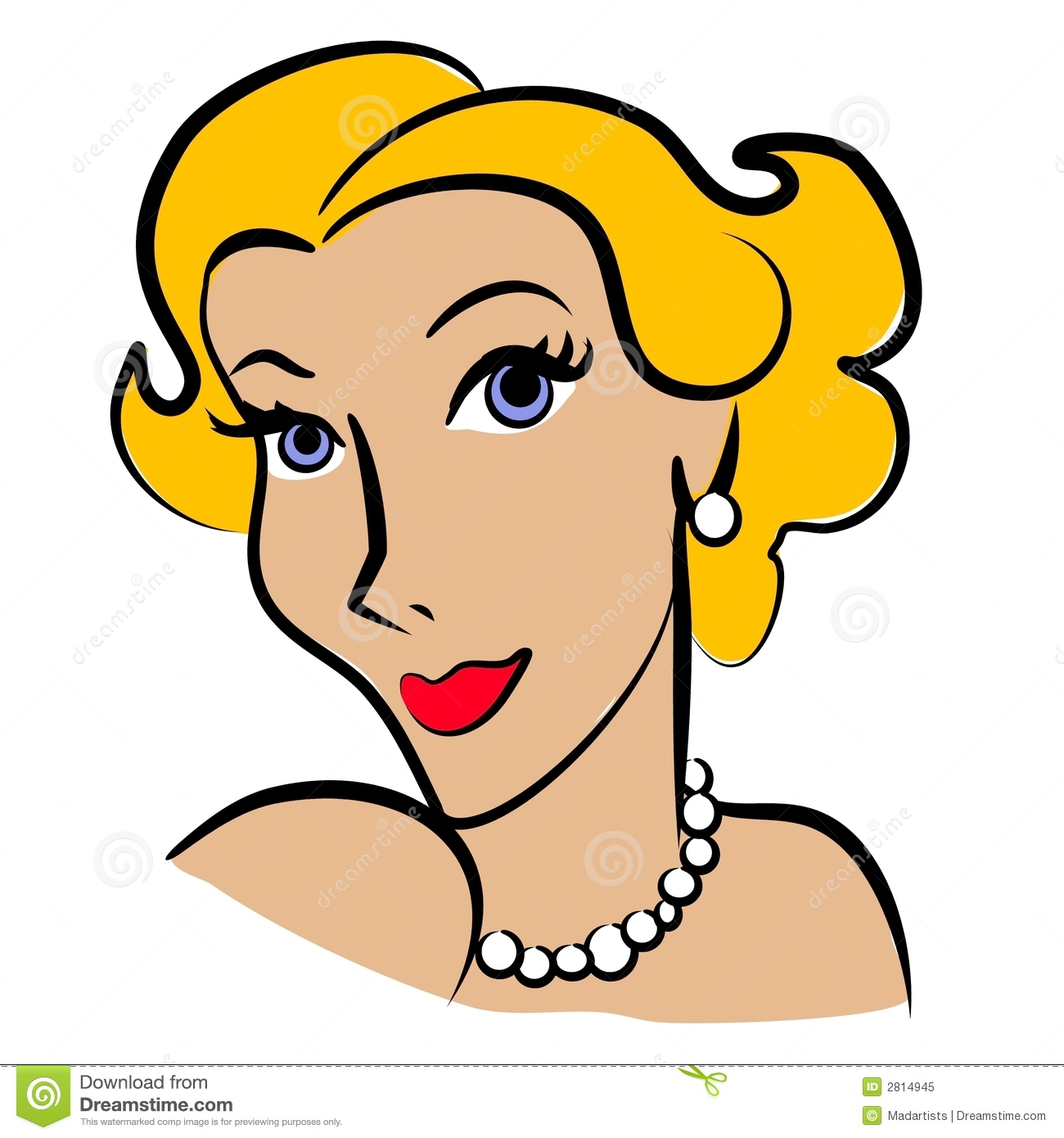 Clipartfest blondeclipartretrowoman . Blonde mother clipart real