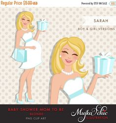 Clipartfest pregnant mom . Blonde mother clipart real