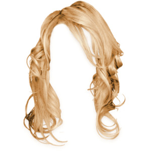 Blonde wig clipart clip art library stock Blonde hair wig clipart - Clip Art Library clip art library stock