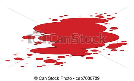 Bloodstain illustrations and clip. Blood stains clipart
