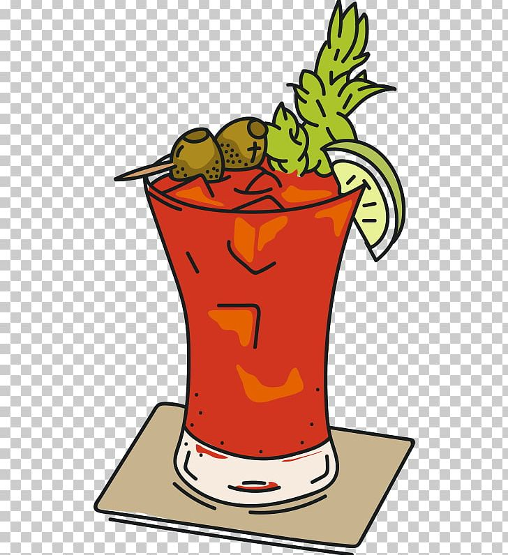 Bloody mary clipart