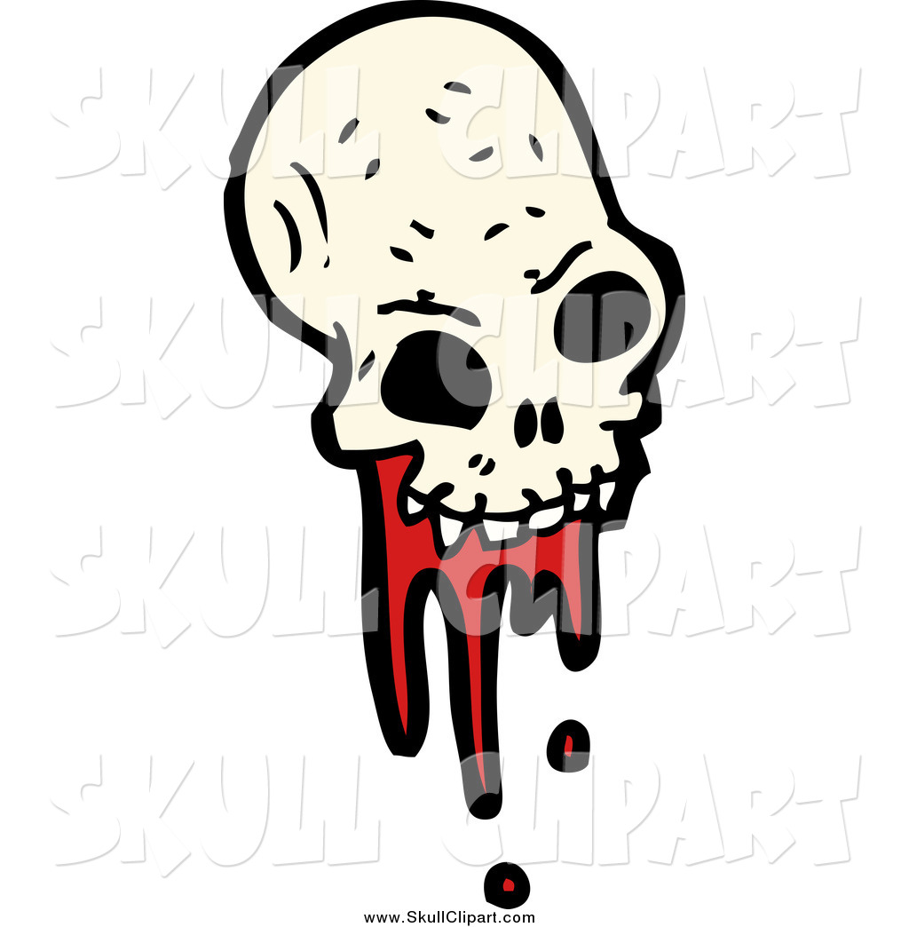 Bloody skull clipart clipart library stock Vector Clip Art of a Bloody Alien Skull by lineartestpilot - #2233 clipart library stock