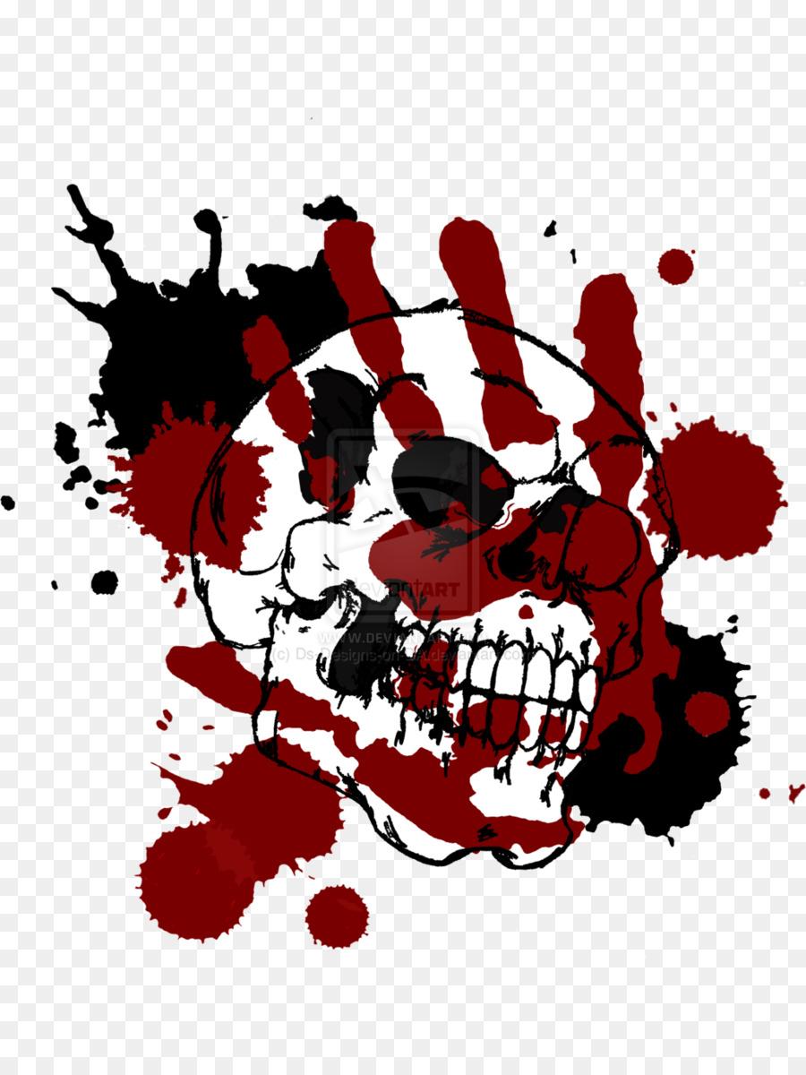Bloody skull clipart jpg transparent download Skull Tattoo clipart - Illustration, Art, Design, transparent clip art jpg transparent download