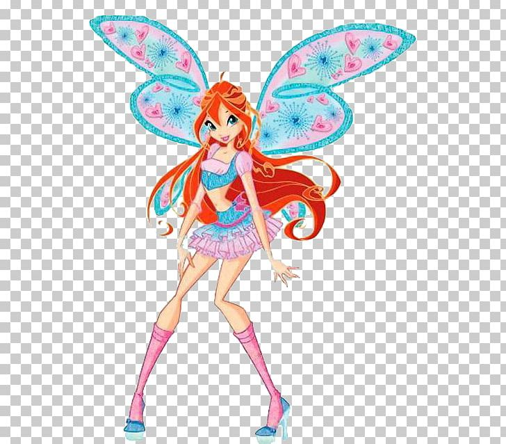 Bloom winx clipart svg library stock Bloom Winx Club: Believix In You Musa Flora Stella PNG, Clipart ... svg library stock