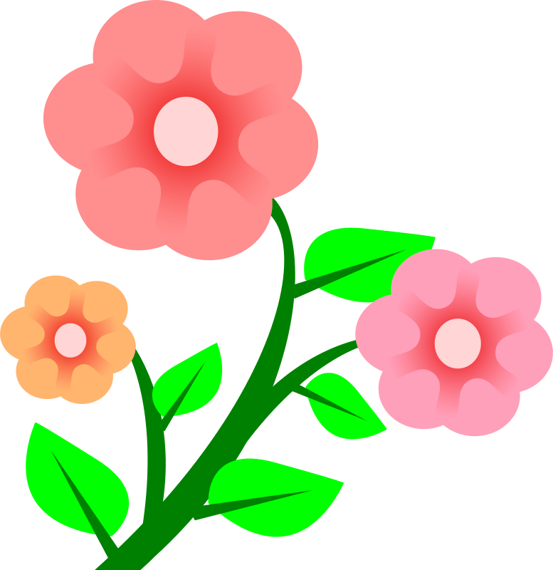 Blooming blossom clipart svg black and white Flower Blossom Cliparts - Cliparts Zone svg black and white