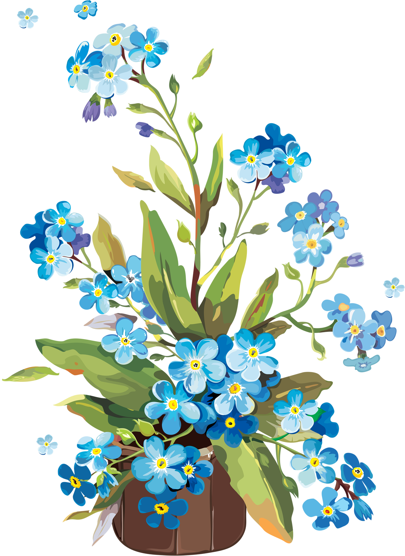 Flower power clipart png free Pin by Malle Lehtmets on värviraamat | Pinterest | Forget, Flowers ... png free