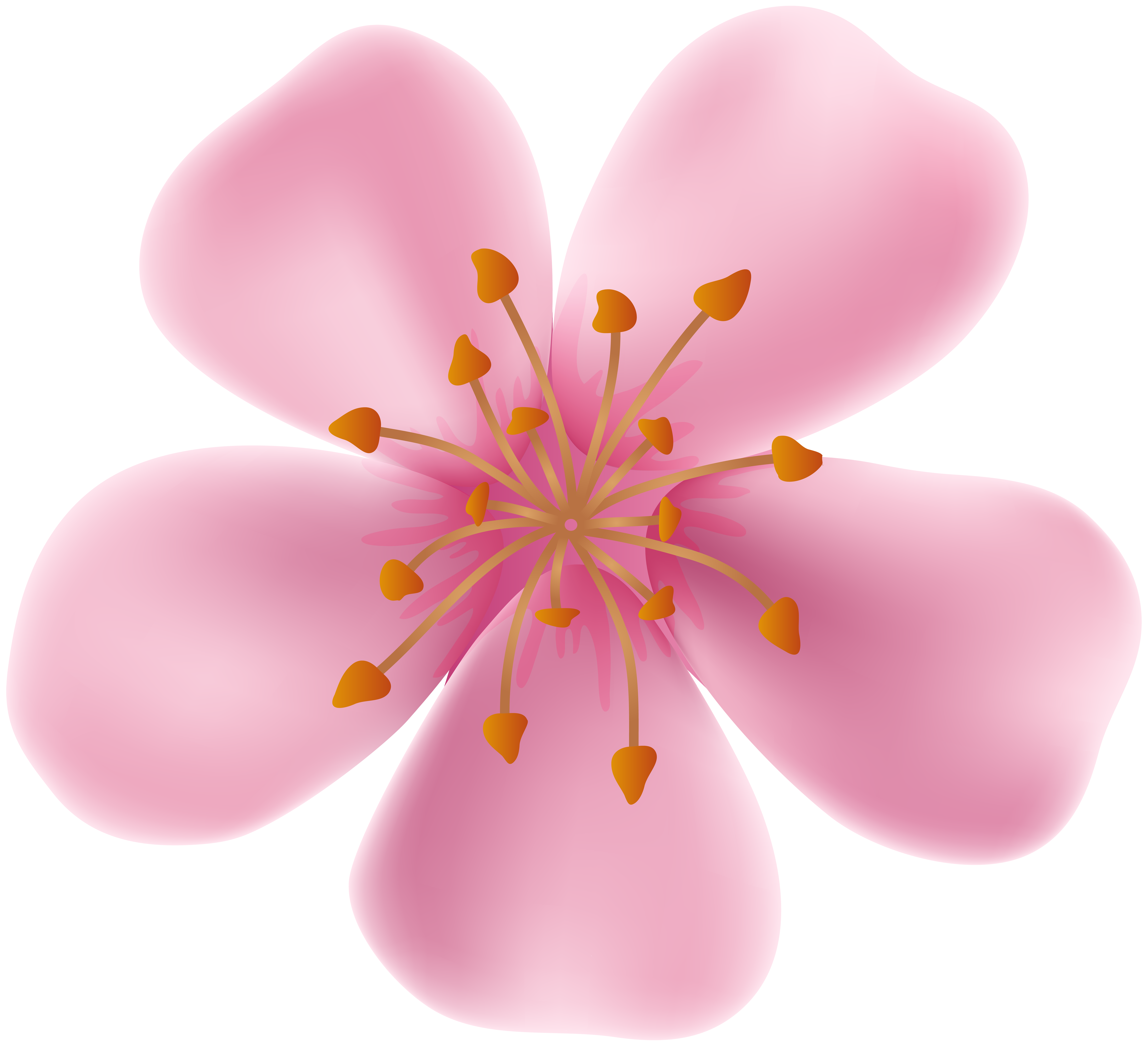 Blooming flower clipart free stock Spring Blooming Flower Clip Art Image | Gallery Yopriceville - High ... free stock