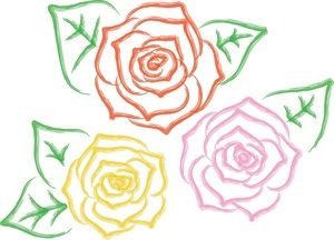 Blooming rose clipart banner royalty free Free Roses Pictures: Rose Blooms Graphic | Really Like... A Lot ... banner royalty free