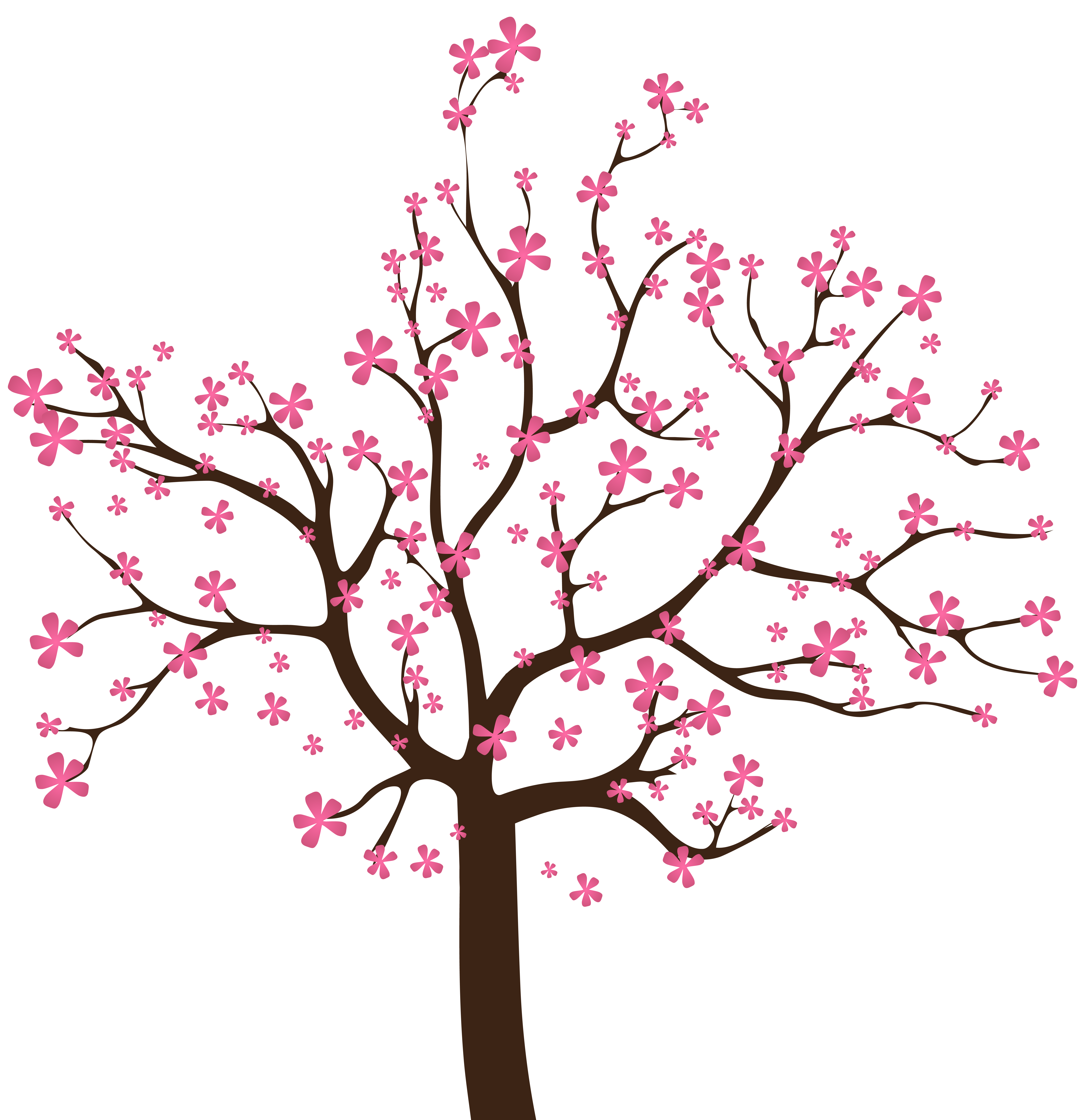 Clipart black and white apple tree in spring clip art Spring Tree PNG Clip Art Image | Pomi | Pinterest | Spring tree, Art ... clip art