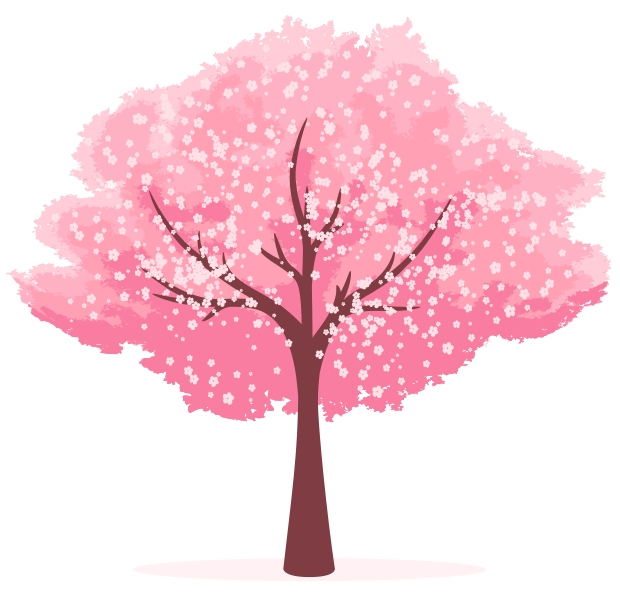 Cherry blossom Clip art - Cartoon hand painted cherry tree 620*600 ... picture royalty free