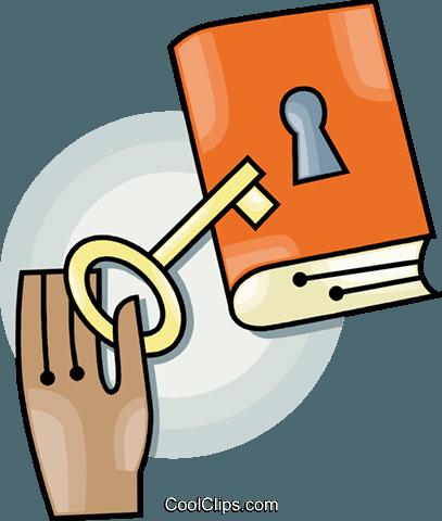 Bloqueado clipart clipart freeuse download bloqueado livro livre de direitos Vetores Clip Art ilustração ... clipart freeuse download