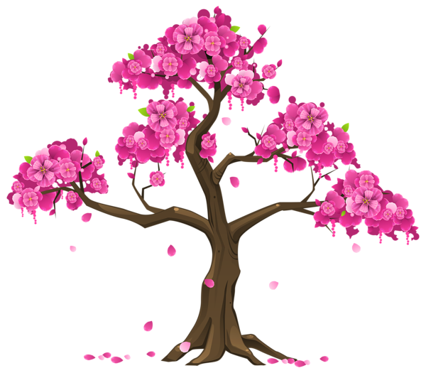Blossom tree clipart clip art transparent stock Pink Tree PNG Clipart Image | Graphics | Pinterest | Pink trees ... clip art transparent stock