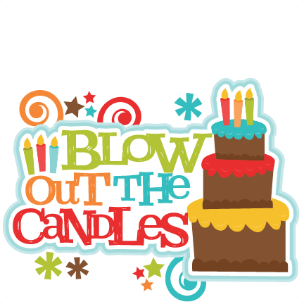 Blow out candles clipart jpg library library Blow Out the Candles Title SVG scrapbook cut file cute clipart files ... jpg library library